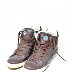 Scarpe Converse All Star N39 Marroni