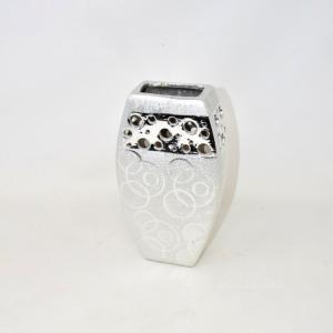 Vaso Design Color Argento