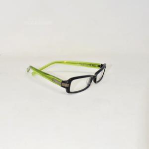 Occhiali Da Vista Jeckerson Nero/verde (lenti Da Fare)