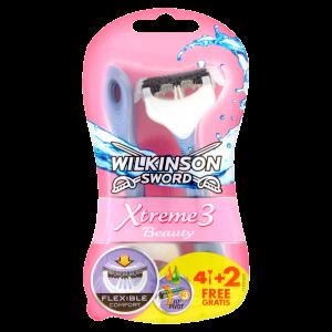 WILKINSON Sword Xtreme3 Beauty Rasoio 4+2