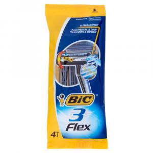 BIC 3 Flex Rasoio x 4 pz