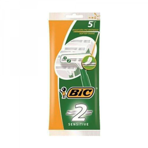BIC 2 Sensitive Rasoio x 5 pz