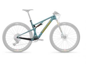 SANTA CRUZ Bici  Blur Carbon Gloss Aqua