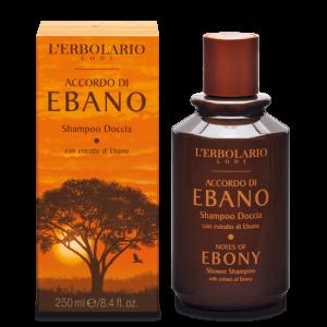 Shampoo Doccia Accordo di Ebano L'ERBOLARIO Novità