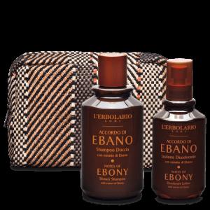 Beauty-Set Corpo Accordo di Ebano L'ERBOLARIO Novità