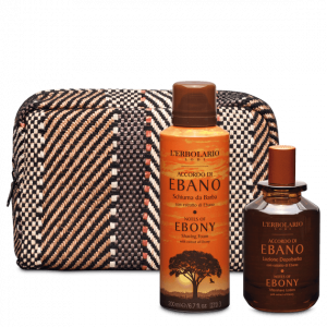 Accordo di Ebano Beauty Set Barba con Schiuma da Barba 200 ml e Lozione Dopobarba 100 ml - Ed.Lim.