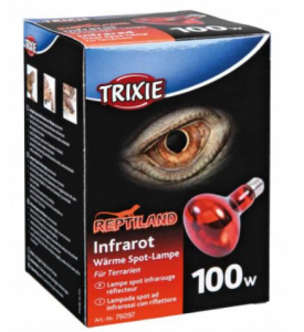 Lampada spot ad infrarossi riscaldante 100W