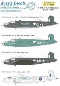 B-25D & B-25J