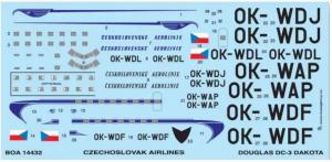 DC-3 CZECHOSLOVAK AIRLINE