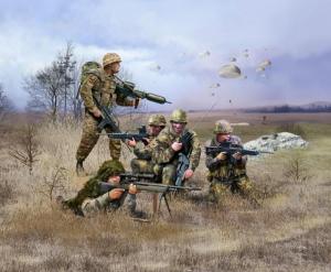 German Paratroopers Modern