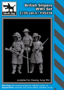 British snipers WWI set (2 fig.)