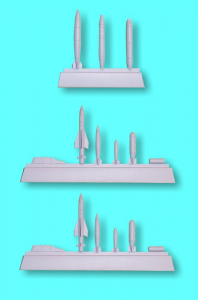 F-104 Starfighter Weapon Set (15 pcs.)