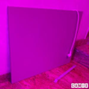 Panneau rayonnant pour le chauffage mural