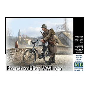 French Soldier WWII era