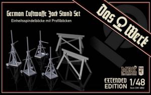 German Luftwaffe Jack Stand Set