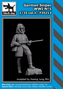 German sniper WWI No.1 (1 fig.)