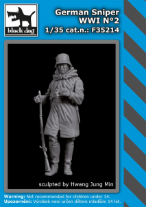 German sniper WWI No.2 (1 fig.)