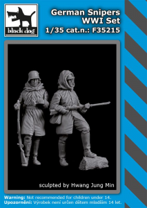 German snipers WWI set (2 fig.)