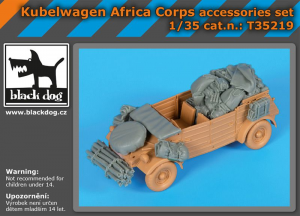 Kübelwagen Africa Corps accessories set