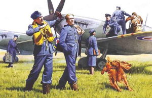 RAF Pilots and Ground Personnel