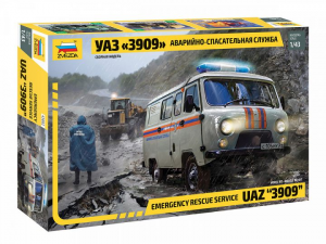 UAZ 3909 Emergency rescue service