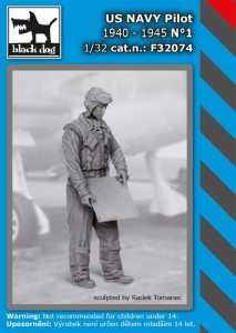 US NAVY pilot 1940-45 No.1 (1 fig.)