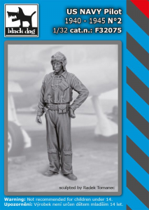 US NAVY pilot 1940-45 No.2 (1 fig.)