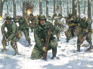 WWII US INFANTRY WINTER UNIFORM