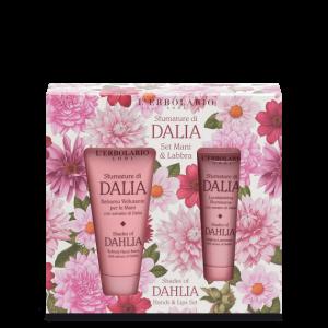 Sfumature di Dalia Set Mani & Labbra: Balsamo Vellutante Mani 30 ml e Lucidalabbra Illuminante 10 ml - Ed. Lim.