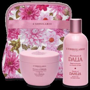 Sfumature di Dalia Beauty Set Petalo con Bagnoschiuma 250 ml e Crema Profumata per il Corpo 300 ml - Ed.Lim.