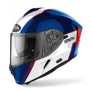 CASCO INTEGRALE MOTO AIROH SPARK FLOW BLUE/RED GLOSS 2020 SPF18