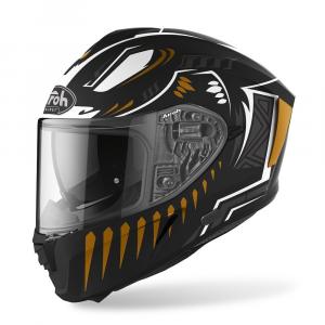 CASCO INTEGRALE MOTO AIROH SPARK VIBE BLACK MATT 2020 SPV35