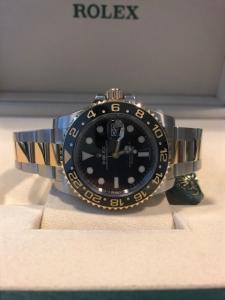 Orologio mai indossato con pellicole Rolex Gmt Master2