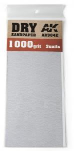 DRY SANDPAPER 1000