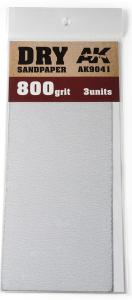 DRY SANDPAPER 800