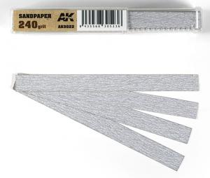 SANDPAPER GRAIN 240 (DRY)
