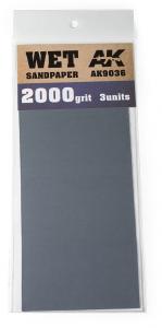 WET SANDPAPER 2000