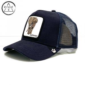 Goorin Bros - Animal Farm Truckers - Elephant - Blue Navy