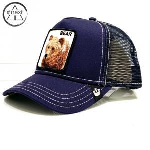 Goorin Bros - Animal Farm Truckers - Bear - Blue