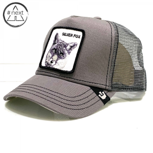 Goorin Bros - Animal Farm Truckers - Silver Fox - Grigio