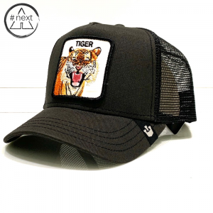 Goorin Bros - Animal Farm Truckers - Tiger - Nero delavè