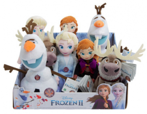 FROZEN 2 TALKING SMALL PLUSH CDU 12