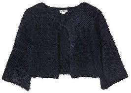 Giacchina eco pelliccia blu Mek