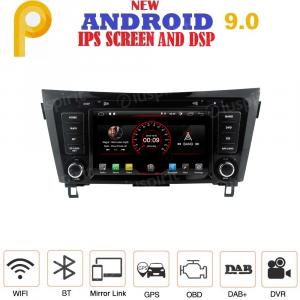 ANDROID 9.0 autoradio 2 DIN navigatore per Nissan Qashqai, Nissan X-Trail 2014-2018 con telecamere 360° e navigatore di serie, GPS DVD USB SD WI-FI Bluetooth Mirrorlink