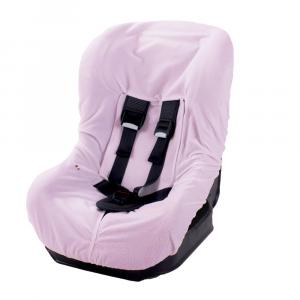 Rivestimento per seggiolino auto 0-18 KG  in spugna di cotone colore rosa