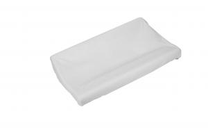 Copri fasciatoio in spugna di cotone colore bianco