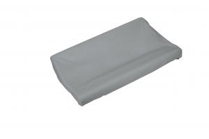 Copri fasciatoio in spugna di cotone colore grigio