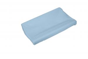 Copri fasciatoio in spugna di cotone colore azzurro