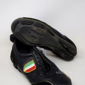 Scarpe Da Ciclismo Cult Nere N40 Bandiera Italiana