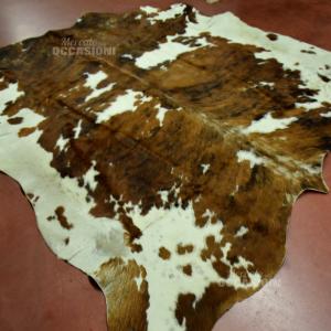 Tappeto 47-25cod. Mucca Marrone Bianco